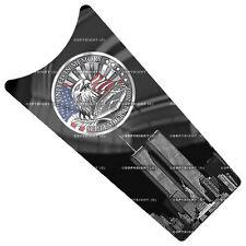 """""""9 11 Memory"""" Dash Insert Decal for 1989-2007 Harley FLHS FLTR FLT FLHT FLHTC"""