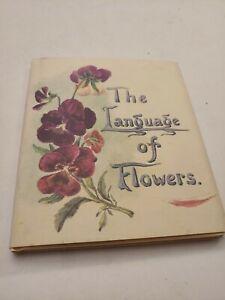 Vintage The Language Of Flowers Hardback Book