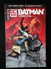 ¤ BATMAN VENDETTA 1 - printemps 2014 - DC SAGA - Urban Comics
