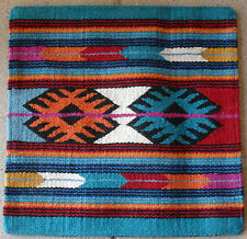 Wool Pillow Cover HIMayPC-59 Hand Woven Southwest Southwestern 18X18