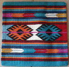 Wool Pillow Cover HIMayPC-59 Hand Woven Southwest Southwestern 18X18