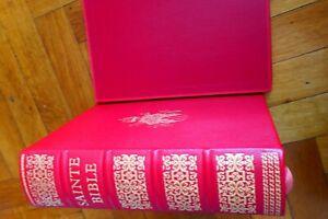 LA SAINTE BIBLE  du Chanoine CRAMPON de 1961