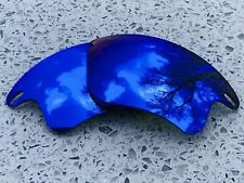 Nueva costumbre Espejo Azul Hielo Lentes de repuesto OAKLEY FAST JACKET XL