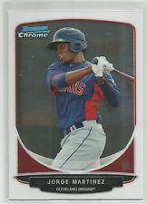 Jorge Martinez Houston 2013 Bowman Chrome Prospects*