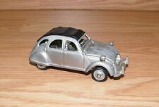 "Vintage Unbranded Pewter Roll Top Peugeot 218 Grams 4"" (inch) Toy Car Only *Read"