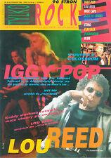 Iggy Pop Lou Reed front cover Polish Tylko Rock magazine