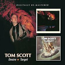 Tom Scott Desire/Target 2on1 CD NEW SEALED 2015 Remastered Jazz