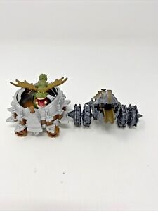 How To Train Your Dragon 2013 DWA Toys Figures Lot Of 2 Gronckle
