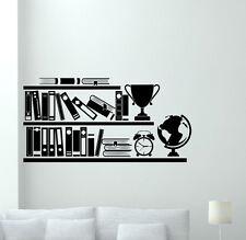 Books Bookshelf Wall Decal Library School Vinyl Sticker Art Decor Mural 343xxx