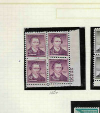 U.S: MINT #1052 PLATE NUMBER BLOCK 4 NH OG 25258