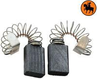 NUOVO Spazzole di Carbone MILWAUKEE CS55 sega - 5x10x15mm