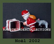 Jouet kinder Noël 2002 Père Noël / Cheminée France 2002