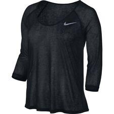 Womens Nike DF Cool Breeze 3/4 719872-010 Black Brand New Size S