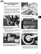 Arctic Cat 2005 2-stroke model snowmobile repair service manual in 3-ring binder