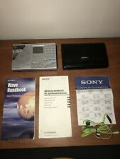Sony ICF-SW7600GR World Band Receiver, Pouch, Wave Handbook, Instructions Tested