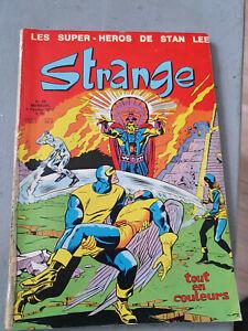 BD comics Strange T26 Stan Lee LUG