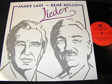 JAMES LAST - RENÉ KOLLO Lieder / DDR LP 1990 DSB MATRIX POLYDOR 841240-1