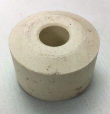 "Vintage 2"" White Spool Type Ceramic Insulator (Qty 10)"