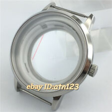 40mm Stainless Steel Watch Case Fit ETA 2836 Miyota 8205 8215 821A Movement P768