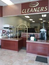Used Dry Cleaner Equipment( most in store. include conveyor.counter,computer .)