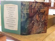 WAYSIDE & Woodland Birds Of The British Isles & Their Eggs 1975