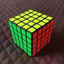 Shengshou 5x5x5 Speed Cube Black with Bright Stickers