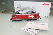 Märklin H0 3328 Schweiz E-Lok Serie Re 4/4 IV SBB sehr gepflegt in OVP (SL3868)