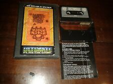 Knight lore ultimate play the game 1984 msx tape box spectrum part of manual
