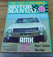 1969.MOTOR.Holden MONARO GTS 350.BMW 2000.Chrysler REGAL 770.Honda 600.AMX