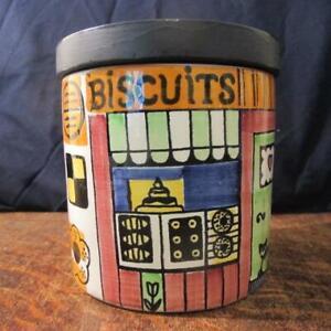 RETRO 1960'S JIE GANTOFTA SWEDEN ANITA NYLUND DESIGN BISCUIT STORAGE  JAR