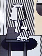 Still Life with Table Lamp, Offset Lithograph, Roy Lichtenstein
