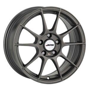 Cerchi in Lega Autec WIZARD 7.0x16 ET25 4x108 GUN per Peugeot 2008 206 207 208 3