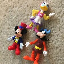New listing Vintage Kellogs Applause Epcot Center Mickey Mouse Goofy Daisy Cake Tops Figures