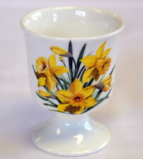 Single Welsh Daffodil design china EGG CUP ,  Wales/Cymru