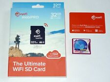 Original SanDisk eyefi mobiPRO 32GB WiFi SDHC Speicherkarte Class10 + CF Adapter