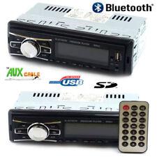 AUTORADIO FM STEREO BLUETOOTH AUTO LETTORE MP3 USB SD AUX DISPLAY RADIO RCA CAVI