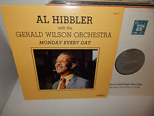 AL HIBBLER & Gerald Wilson Orchestra Monday Every Day '81 Discovery Blues LP NM