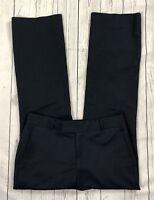 EUC Women's Banana Republic Navy Blue Martin Fit Dress Pants-Size 4