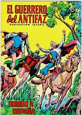 EL GUERRERO DEL ANTIFAZ (Reedición color) nº:  74.  Valenciana, 1972-1978.