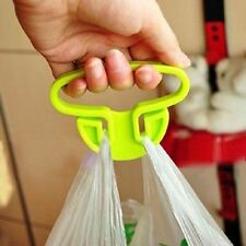New Handle Grips Lifter Carrier Holder Trip Shopping Hanger Grocery Bags Tool JF