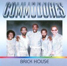 Commodores Brick house (compilation, 12 tracks, incl. 2 medleys) [CD]