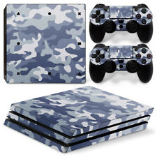 Sony PS4 Pro Console and Controller Skins / Decal -- Camo / Camouflage P-580