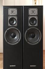 Quadral Lautsprecher, schwarz, gebraucht, Made in West Germany, sehr guter Sound