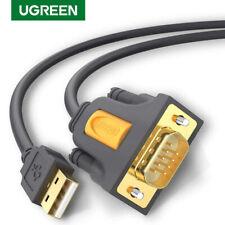 Ugreen USB 2.0 a RS232 DB9 Cable Serial Convertidor Adaptador PL2303 forwin 10 8 XP
