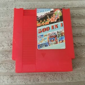 For NES Classic Console500 IN 1 Super Games Card Collection Cartridge