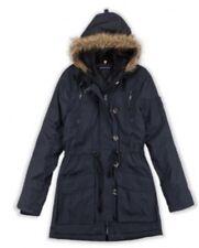 Brave Soul LJK-Military Parka Coat Faux Fur Trim Hood Uk 8