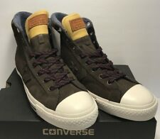 8028ee9d66d4eb Converse Mens Size 8 Womens 10 CTAS Star Player Suede HI Sneakers Brown New