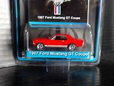 Greenlight 1967 67 Ford Mustang GT Coupe Red Midnight Edition 1/64 1 of 912 Made