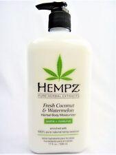 Hempz Fresh Coconut & Watermelon Herbal Body Moisturizer Lotion 17oz