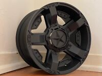 "4X NEW Genuine  XD 17X9"" PX3 PX2  FORD RANGER  2019  SATIN BLACK 17"" WHEELS ONLY"